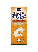 Boots Allergy Relief 1 Year Plus Antihistamine 2mg/5ml  Syrup