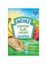 Heinz 7+ Months Soft Pieces Summer Fruit Cereal Breakfast 120g