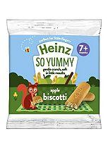 Heinz 7+ Months Apple Biscotti Snack 60g