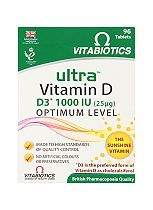 Vitabiotics Ultra D3 tablets - 96 tablets