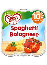 Cow & Gate Little Steamed Meals Spaghetti Bolognese 10m Onwards 230g