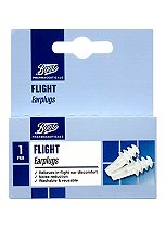 Boots Flight Earplugs (1 Pair with Carry Case)