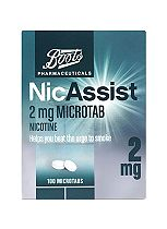 Boots Pharmaceuticals NicAssist 2mg Microtab - 100 Microtabs
