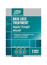 Boots Hair Loss Treatment Regular Strength - 1 Month Supply (60ml)