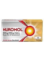 Nuromol 200mg/500mg Tablets (24 Tablets)- Always read the leaflet