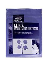 Boots Pharmaceuticals T.E.N.S Replacement Electrodes (Pack of 4)