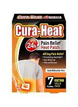 Cura-Heat Back & Shoulder Pain - 7 packs