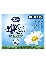 Boots  One-A-Day Allergy Relief 10mg Tablets Loratadine -14 Tablets