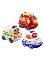 Vtech Toot Toot Drivers Set - Emergency Vehicles
