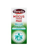 Benylin Mucus Cough Oral Solution Menthol Flavour 100mg/5ml Syrup - 150ml