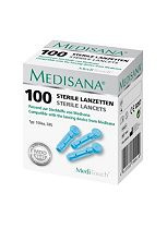 MediTouch Blood Glucose Sterile Lancets (100 pieces)
