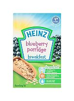 Heinz 7+ Months Soft Pieces Blueberry Porridge Breakfast 120g