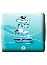 Boots Pharmaceuticals Staydry Extra Plus Pads - 10 Pads