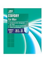 Boots Pharmaceuticals Staydry Mens Medium/Large Pants (10 Pack)