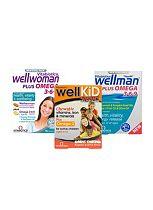 Vitabiotics Well Family pack - 3 months supply
