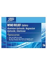 Boots Wind Relief Tablets - 36 Tablets