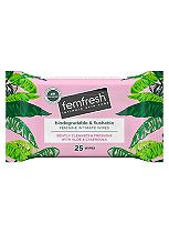Femfresh wipes 25s