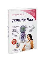 Babycare TENS hire pack includes DVD