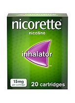 Nicorette 15mg inhalator (20 cartridges)