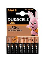 Duracell Power Plus AAA batteries 8 pack