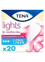 lights by TENA Long Liners x20