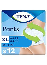 TENA Pants Plus XL - 12  Pants