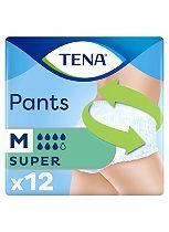 TENA Pants Super Medium - 12 pants