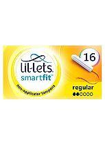 Lil-Lets Non-Applicator Tampons Regular 16 Pack