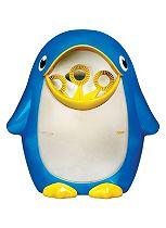 Munchkin Bath Penguin Bubble Blower & Maker - Blue