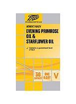 Boots EVENING PRIMROSE OIL & STARFLOWER OIL 30 Capsules