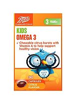 Boots CHEWABLE OMEGA 3 ORANGE  90 Capsules