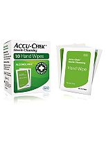 Accu-Chek sterile cleansing hand wipes