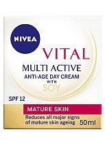 Nivea Vital Multi Active Day Cream SPF12 50ml