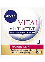 Nivea Vital Multi Active Night Cream 50ml