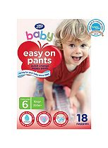 Boots Baby Easy On Pants Size 6 Extra Large - 1 x 18 Pants