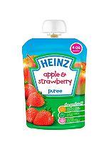 Heinz 4-36 Months Apple & Strawberry Puree 100g