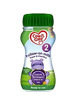 Cow & Gate 2 Follow On Milk Ready to Feed 200ml
