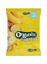 Organix Finger Foods Banana Rice Cakes 7+ Months Stage 2 50g