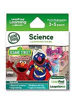 LeapFrog Explorer Learning Game: Sesame Street: Solve It with Elmo, Abby & Super Grover 2.0