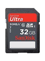 SanDisk 32GB Ultra® SD Memory Card