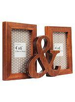 Wooden Ampersand Photo Frame - 6 x 4