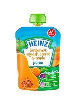 Heinz 4+ Months Butternut Squash, Carrot & Apple Puree 100g