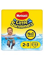 Huggies® Little Swimmers Size 2-3 (3kg-8kg) - 12 Pants