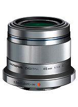 Olympus (45mm f1.8) M.ZUIKO Standard Portrait Lens - Silver