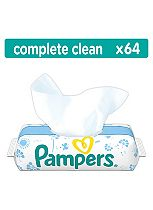 Pampers Fresh Clean Baby Wipes - 64Pack