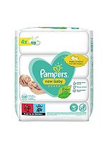 Pampers New Baby Sensitive Wipes - 200Wipes (4x50)