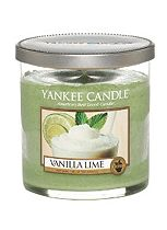 Yankee Candle Small Pillar Candle in Vanilla Lime