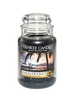 Yankee Candle Classic Large Jar Candle in Black Coconut