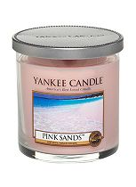 Yankee Candle Small Pillar Candle in Pink Sands