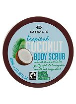 Boots Extracts [Coconut Body Scrub] 400ml Containing Fairtrade ingredients